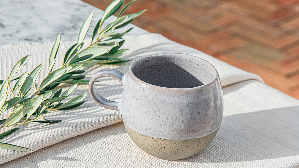 Grey Brown Mug