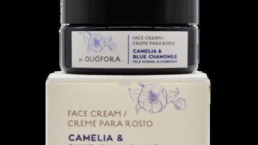 Face Cream - Camellia & Blue Chamomile - 50 ml