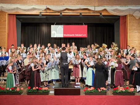 Großer Tag der Blasmusik der Jugend in Rohrdorf