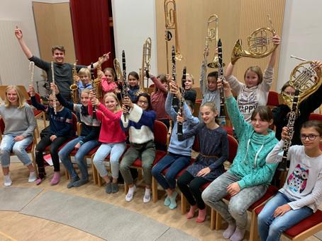 Mini-Musikanten starten mit neuem Dirigenten durch!