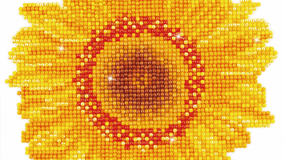 Diamond Dotz Happy Day Sunflower