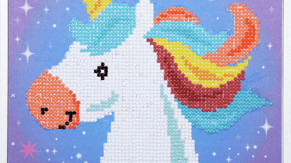 Vervaco: Diamond Painting: Unicorn