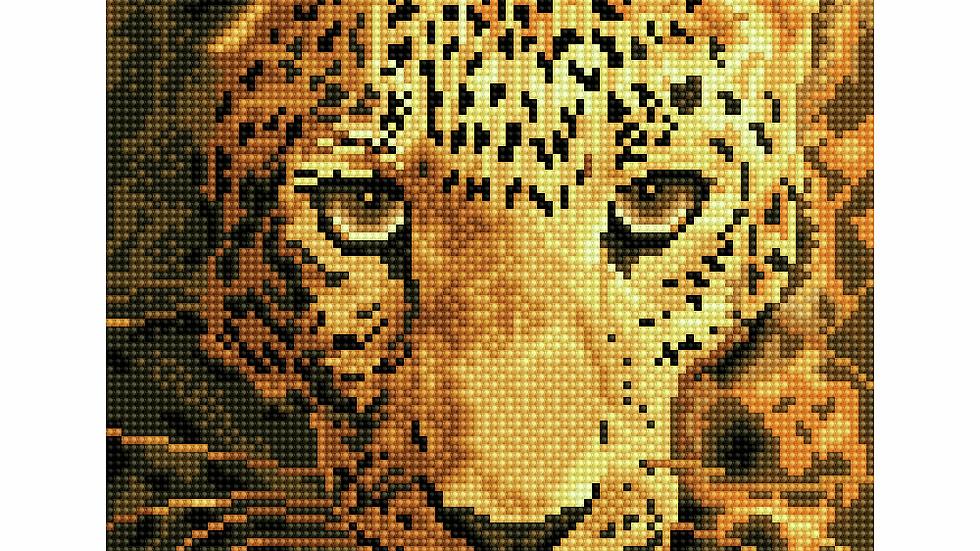 Diamond Dotz Jaguar Prowl