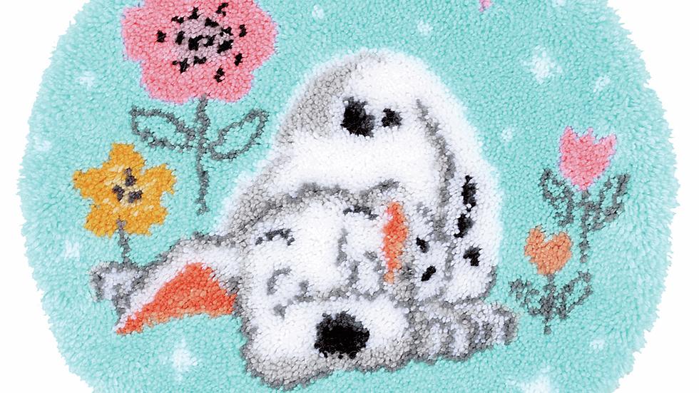 Vervaco: Latch Hook Kit: Rug: Disney: Little Dalmatian