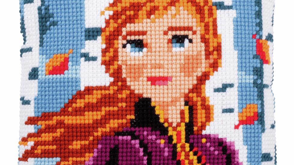 Vervaco: Cross Stitch Kit: Cushion: Disney: Frozen 2 - Anna
