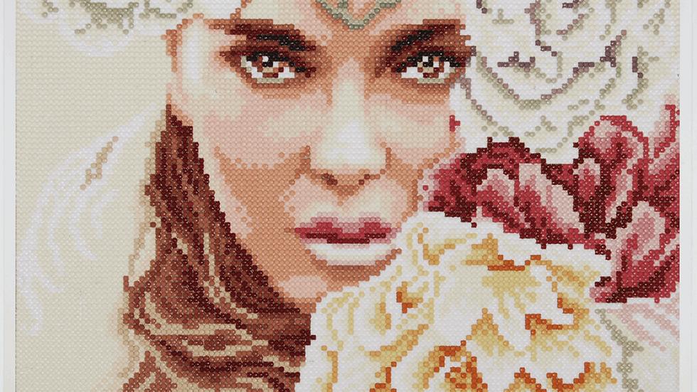 Lanarte: Diamond Painting Kit: Enchanting Eyes
