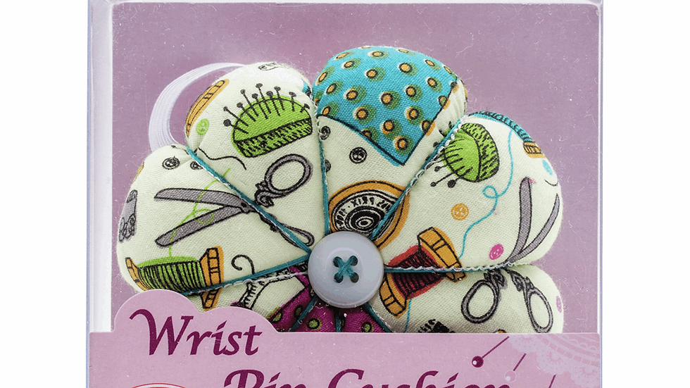 Sew Easy Pincushion: Wrist Strap: Notions Fabric