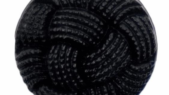 Fancy nylon black buttons