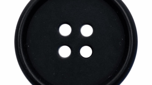 4 Hole Black Simple Buttons