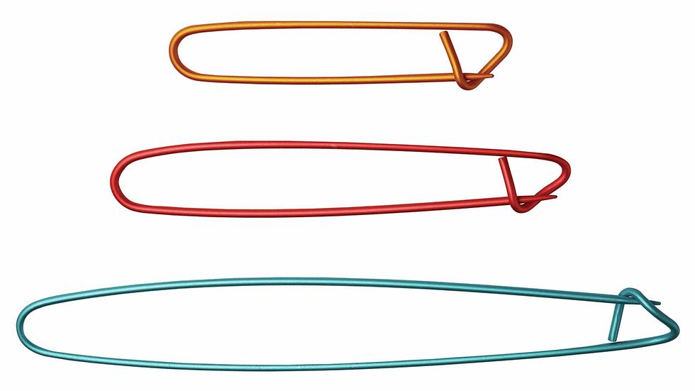 KnitPro: Aluminium Stitch Holders: Set of 3