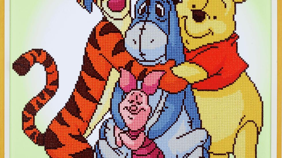 Vervaco: Diamond Painting: Disney: Pooh with Friends