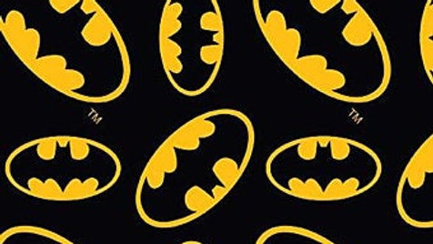 DC Comics Fabric - Batman Logo