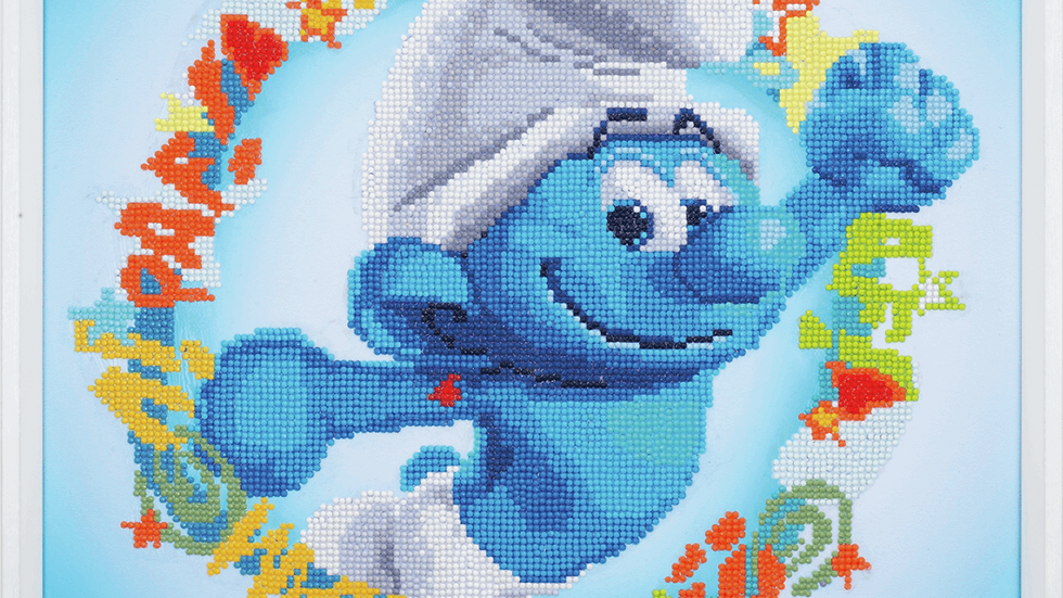 Vervaco: Diamond Painting: The Smurfs:Hefty