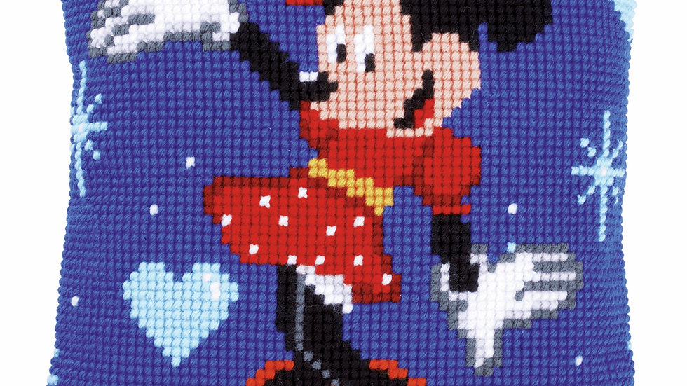 Vervaco: Cross Stitch Kit: Cushion: Disney: Minnie Mouse