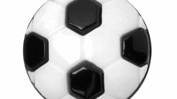 15mm Kids Football Buttons