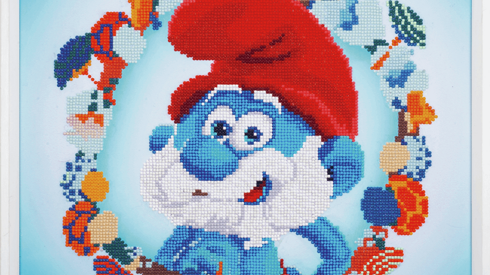 Vervaco: Diamond Painting: The Smurfs: Papa