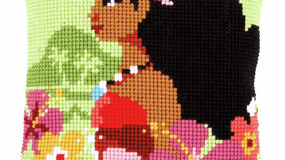 Vervaco: Cross Stitch Kit: Cushion: Disney: Moana Island Girl