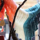 Beautiful handmade shawl