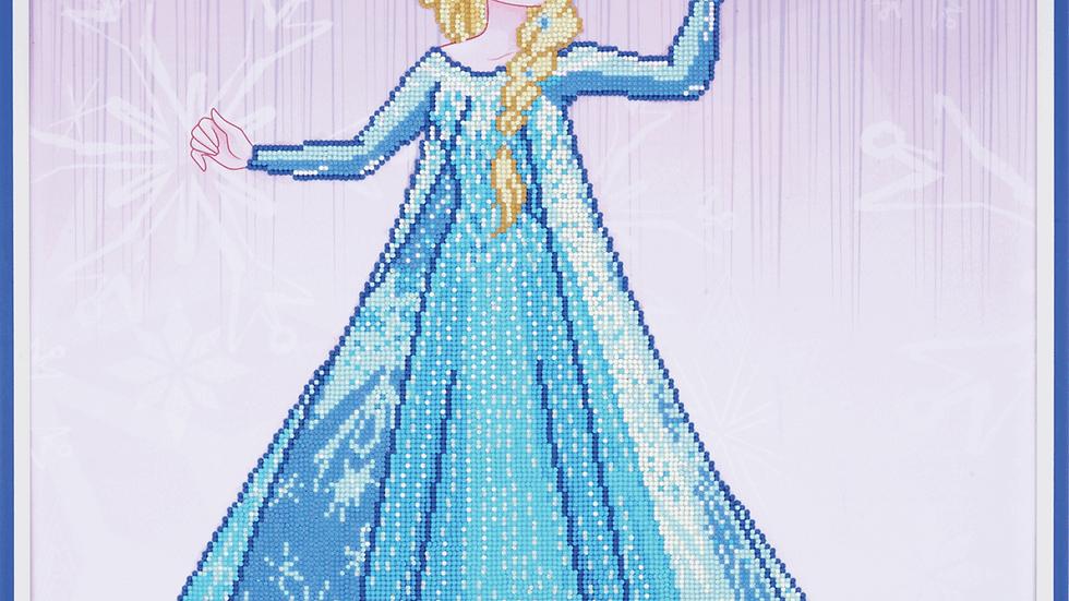 Vervaco: Diamond Painting: Disney: Ice Magic Elsa