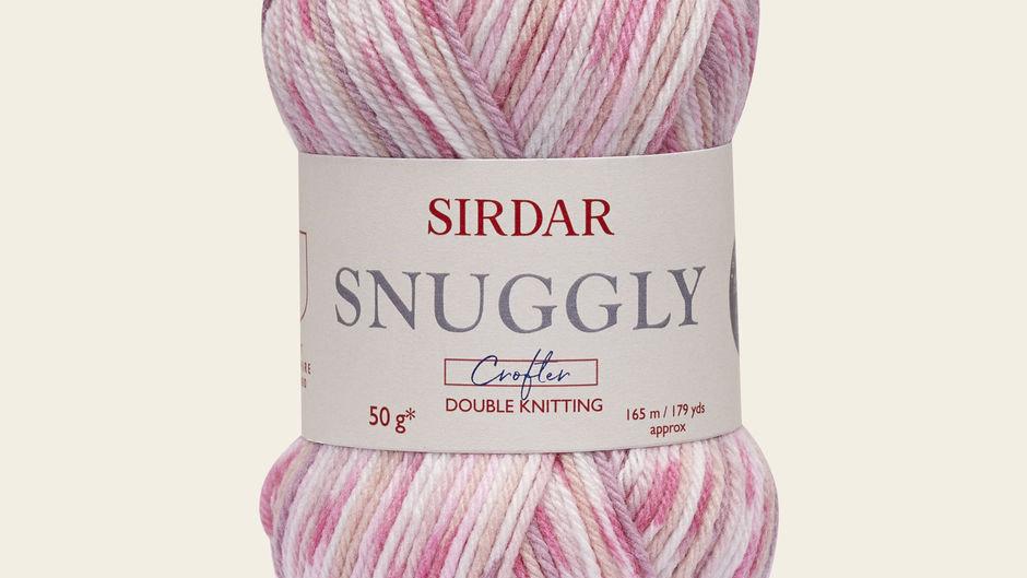 Sirdar Snuggly Baby Crofter DK Knitting Yarn