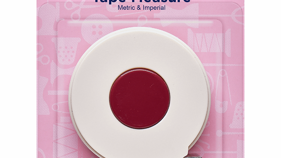 Hemline Tape Measure: Retractable - 300cm