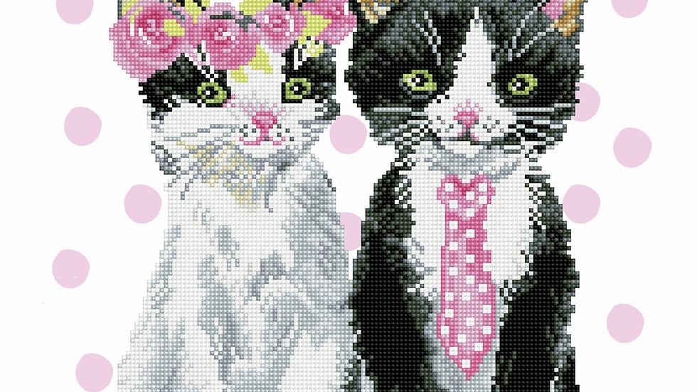 Diamond Dotz Mr & Mrs Pink