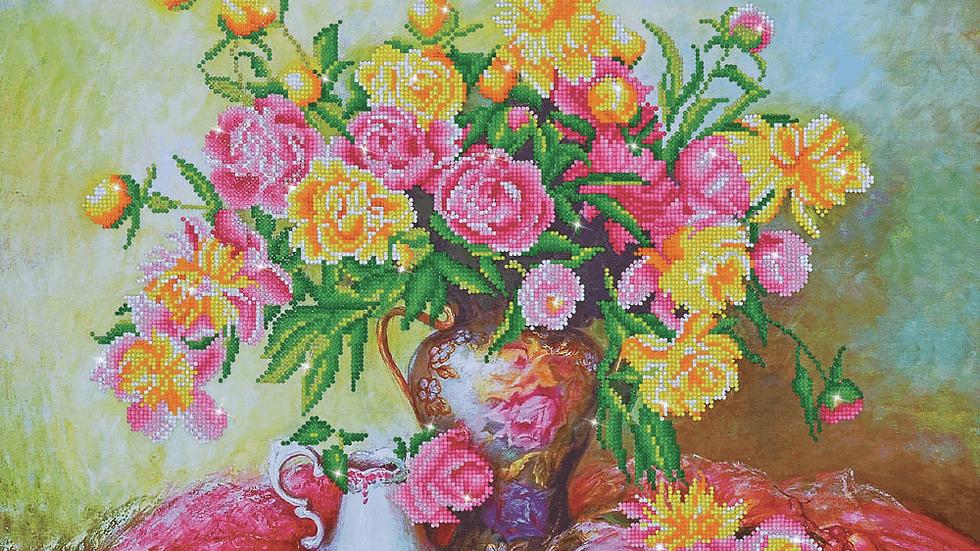 Diamond Dotz Elegant Roses