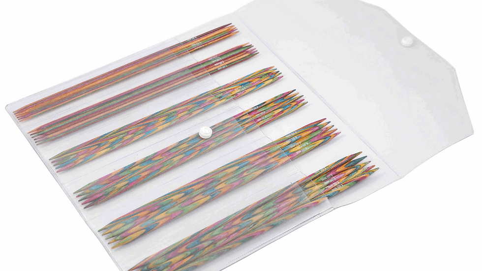 KnitPro: Symfonie: Knitting Pins: Double-Ended: Set of 5: Sock Pin Kit