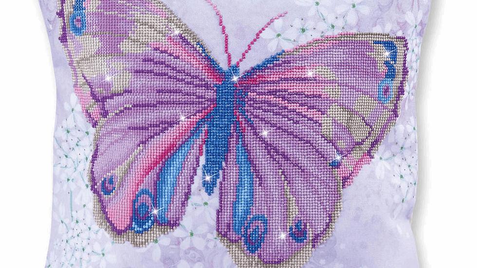 Diamond Dotz Cushion Papillon