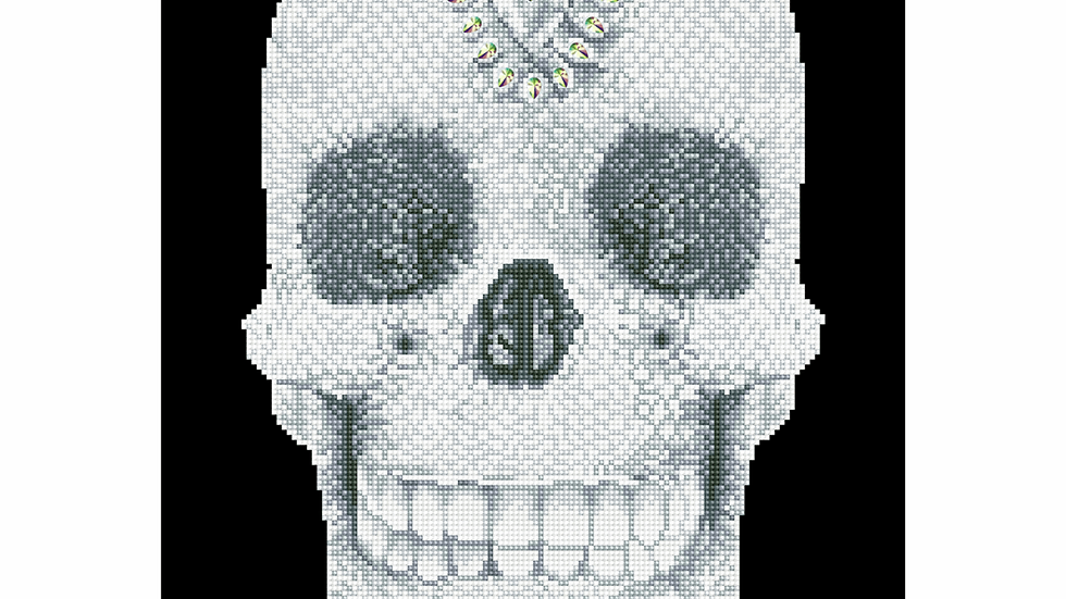 Diamond Dotz Crystal Skull