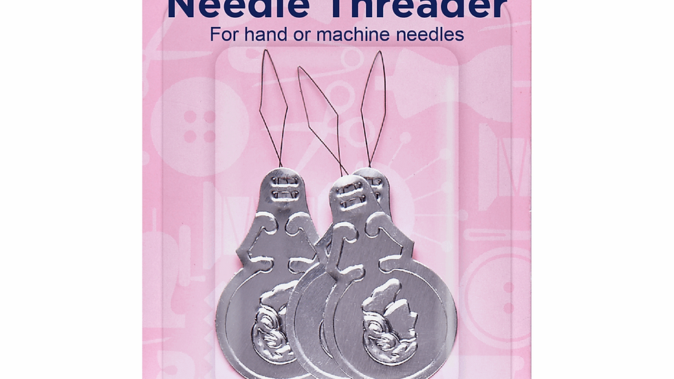 Hemline Needle Threader: Aluminium