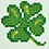 Thumbnail: Diamond Dotz Lucky Leaves