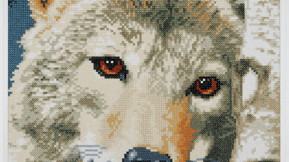 Lanarte: Diamond Painting Kit: Wolf