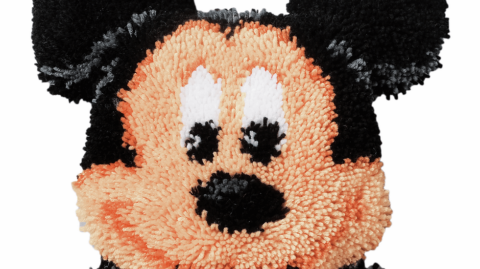 Vervaco: Latch Hook Kit: Shaped Rug: Disney: Mickey Mouse