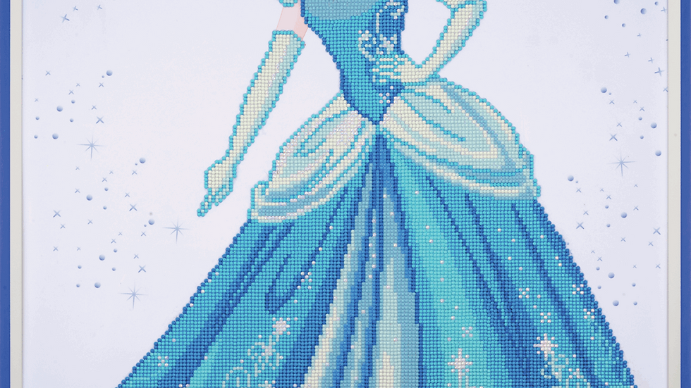 Vervaco: Diamond Painting: Disney: Cinderella
