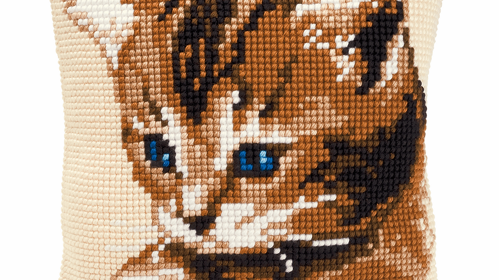 Vervaco: Cross Stitch Kit: Cushion: Kitten