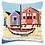 Thumbnail: Vervaco: Cross Stitch Kit: Cushion: Boat
