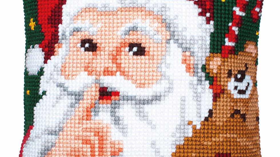 Vervaco: Cross Stitch Kit: Cushion: Santa