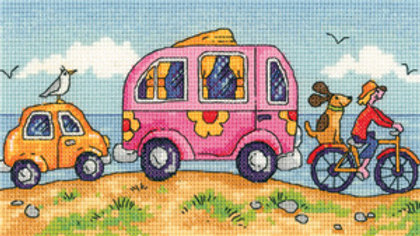Heritage Crafts Are We Nearly There Yet? Cross Stitch Kit