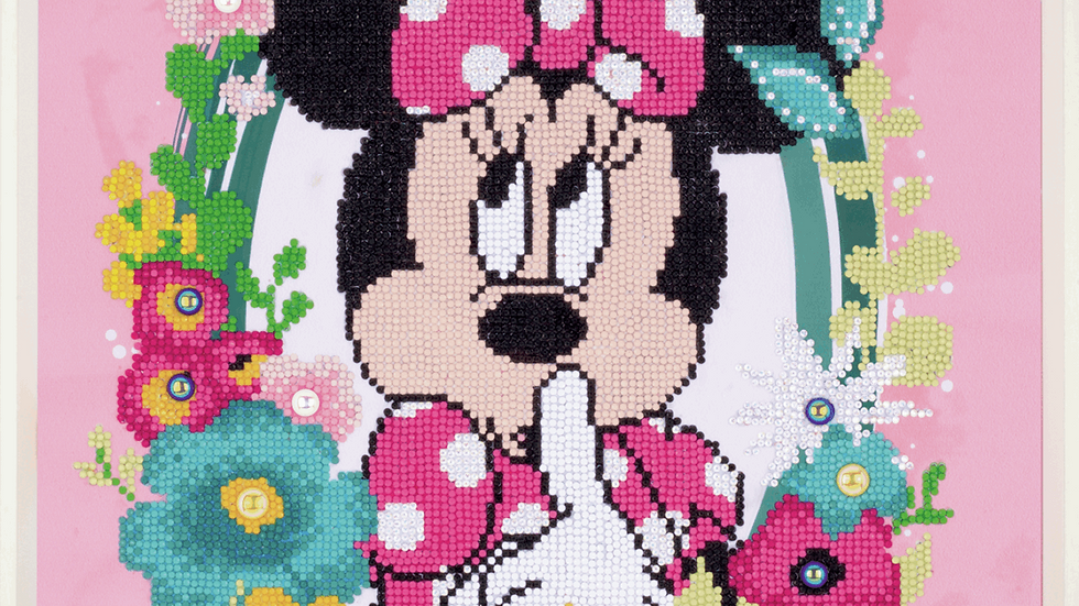 Vervaco: Diamond Painting: Disney: Minnie Shushing