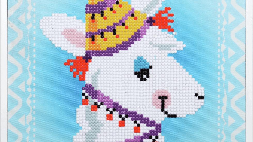 Vervaco: Diamond Painting: Llama