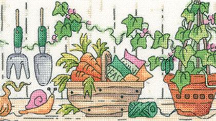 Heritage Crafts Potting Shed Cross Stitch Kit