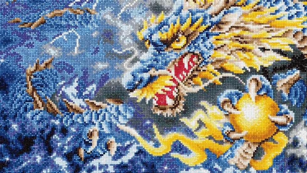 Diamond Dotz Mythical Dragon