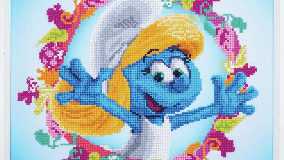 Vervaco: Diamond Painting: The Smurfs: Smurfette