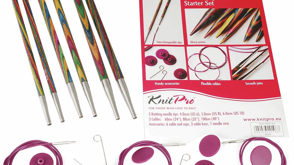KnitPro: Symfonie: Knitting Pins: Circular Interchangeable: Starter Set