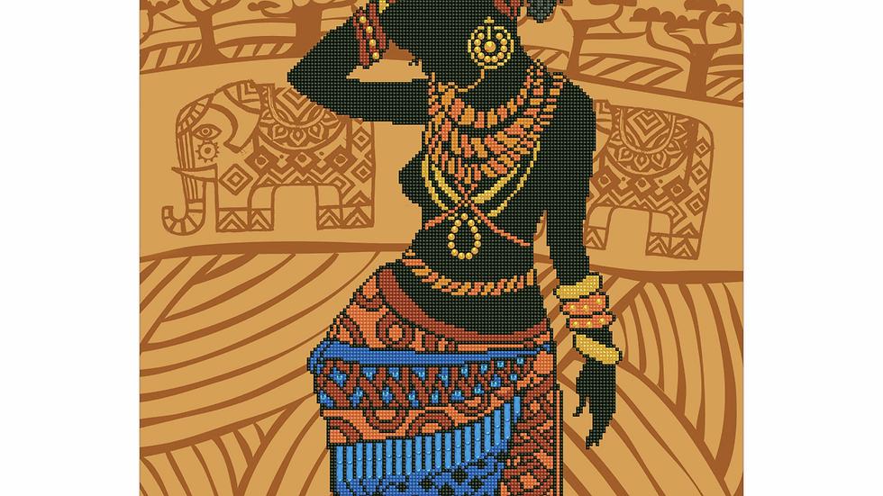 Diamond Dotz African Princess