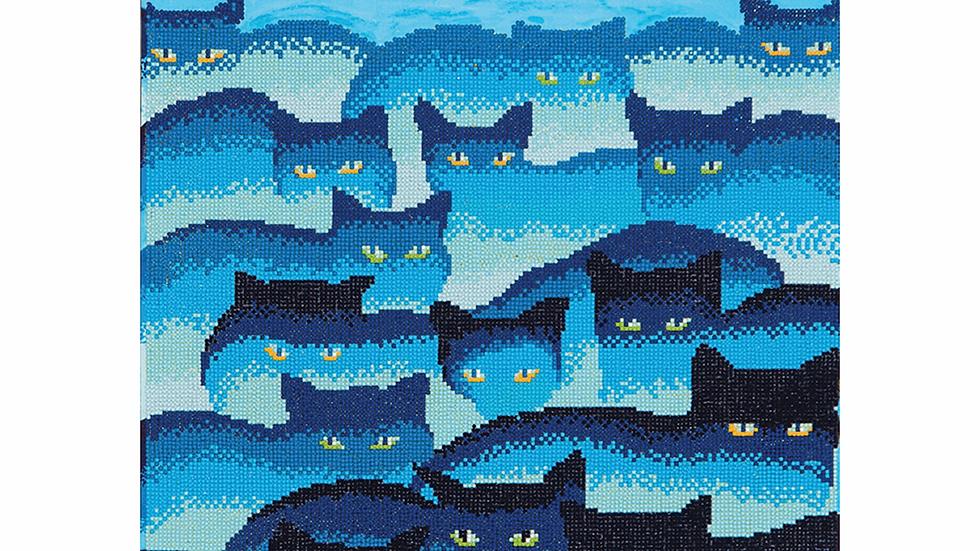 Diamond Dotz Smokey Mountain Cats