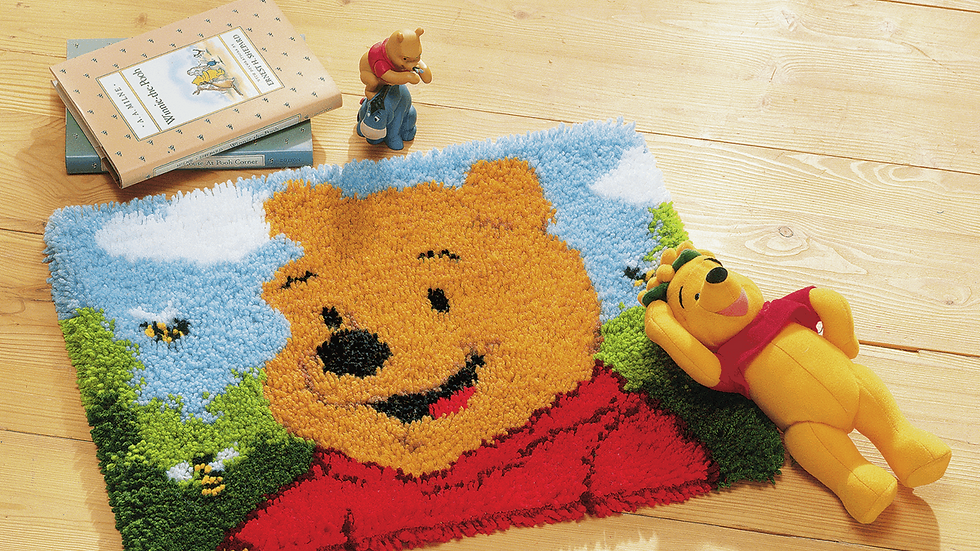 Vervaco: Latch Hook Kit: Rug: Disney: Winnie the Pooh