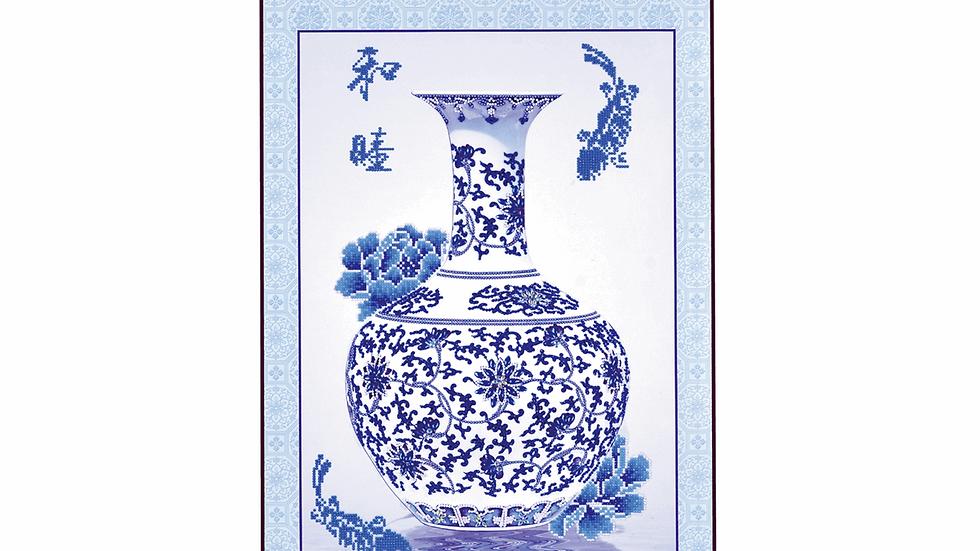 Diamond Dotz Oriental Blessing Scroll
