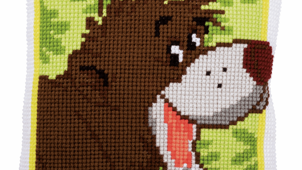 Vervaco: Cross Stitch Kit: Cushion: Disney: Baloo